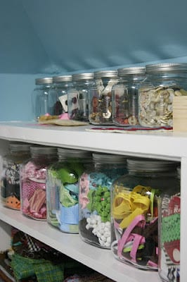 storage ideas for craft supplies