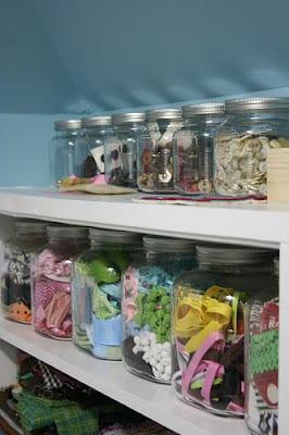 storage ideas for craft supplies