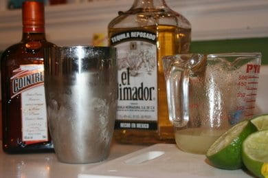 making margaritas- recipe