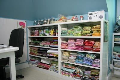 storing fabric