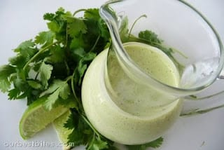 recipe for lime cilantro dressing