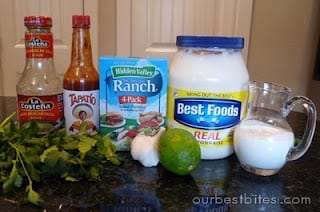 lime cilantro dressing recipe