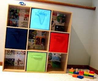 playroom organized
