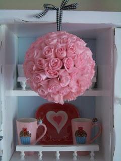 rose pom valentines day