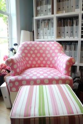 polka dot furniture