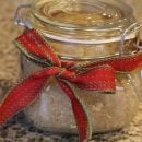holiday gift sugar scrub