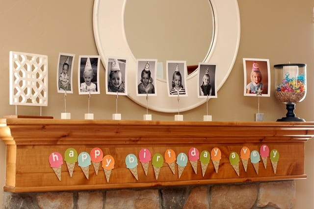 creative birthday decorations