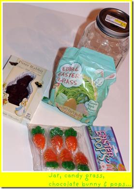 Easter jar gift