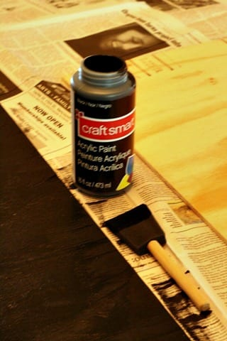 Craft paint for DIY projects