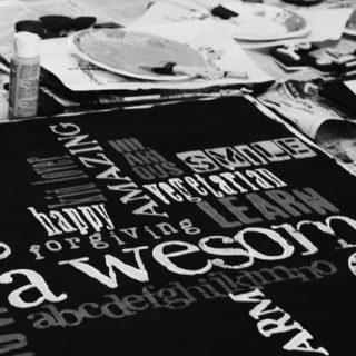 Wordle Subway Art