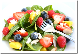Summer berry salad recipe