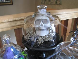 Decorating with skulls