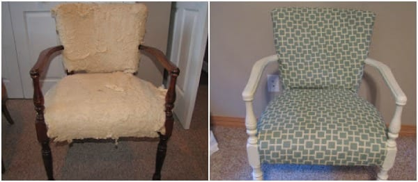 recovering a chair