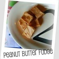BEST Peanut Butter Fudge recipe EVER!