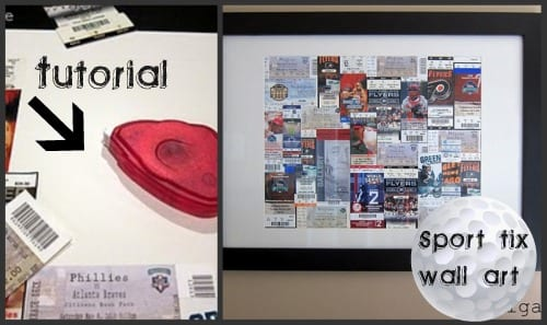 wall art for sport fans