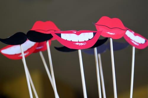 Printable lips