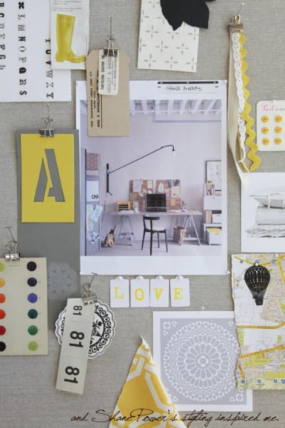 gray and yellow inspiration