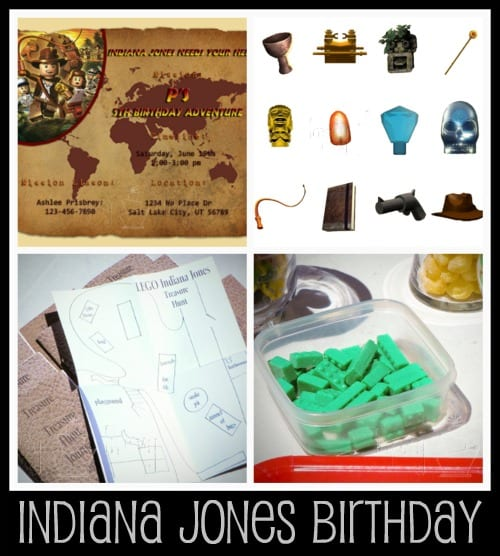 indiana jones lego birthday party ideas