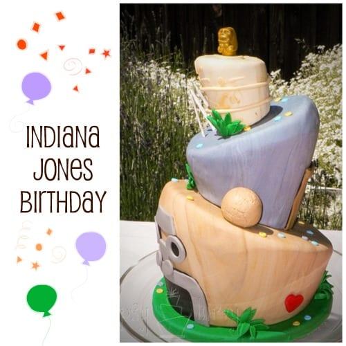topsy turvy fondant birthday cake