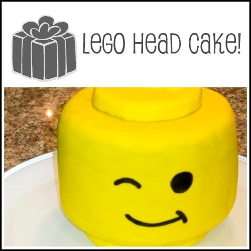lego fondant birthday  cake