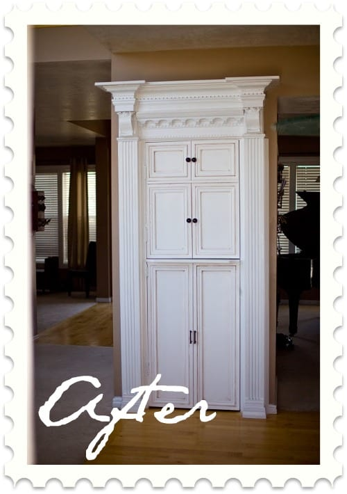 pantry door make over
