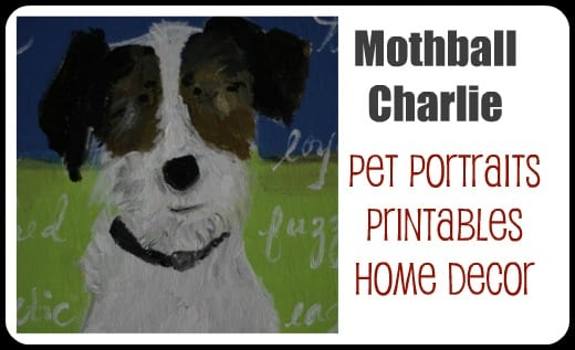 pet portraits and paintings.