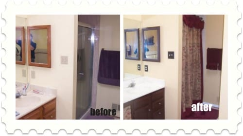 bathroom make over