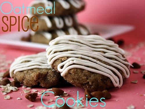 oatmeal spice cookie recipe