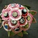 wedding button bouquet