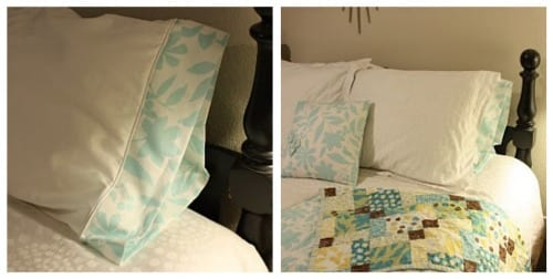 DIY pillow case