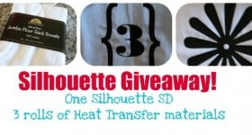 silhouette Giveaway