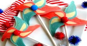 pinwheel shaped pancake
