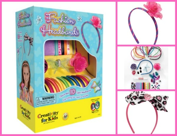 Fashion headbands Creativity for Kids