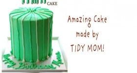 Thin Mint Cake