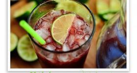 cherry limeade drink