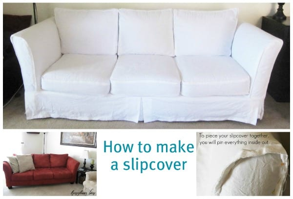 slipcover directions