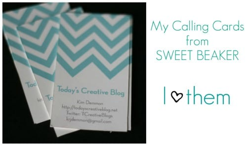 chevron cards