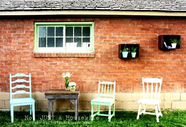 Backyard Ideas {Not Just a Housewife}