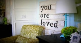creative home decor painted sign