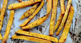 sweet potato Fry recipe