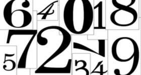 numeral stencil