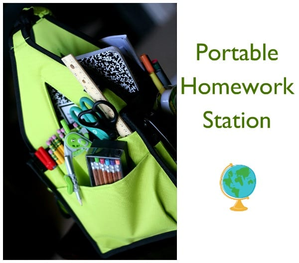homework station- study area- todays creative blog