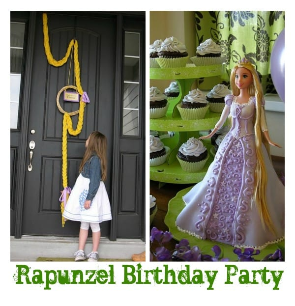 rapunzel birthday party ideas