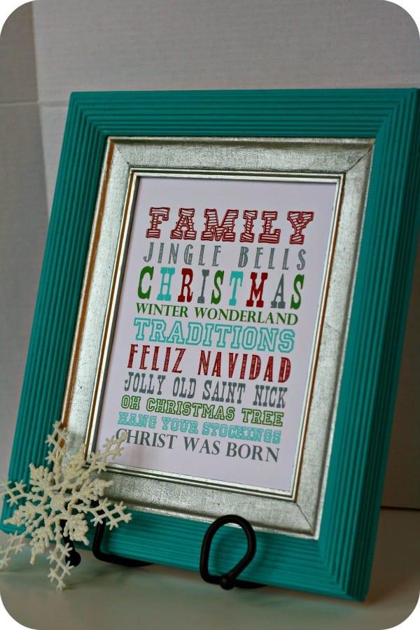 Holiday Cheer Printable - Christmas Printables | Today's ...