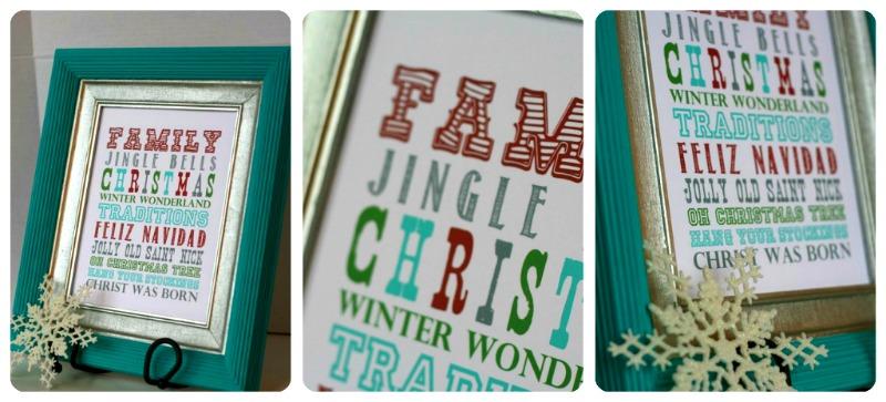 Holiday Cheer Printable – Christmas Printables