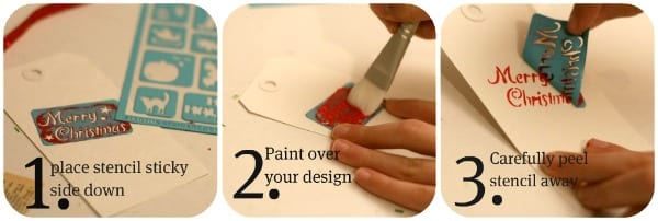 how to use Martha Stewart Stencils