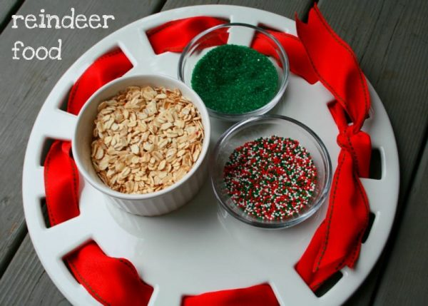 reindeer feed for Christmas eve