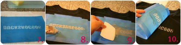 tutorial using a silk screen kit