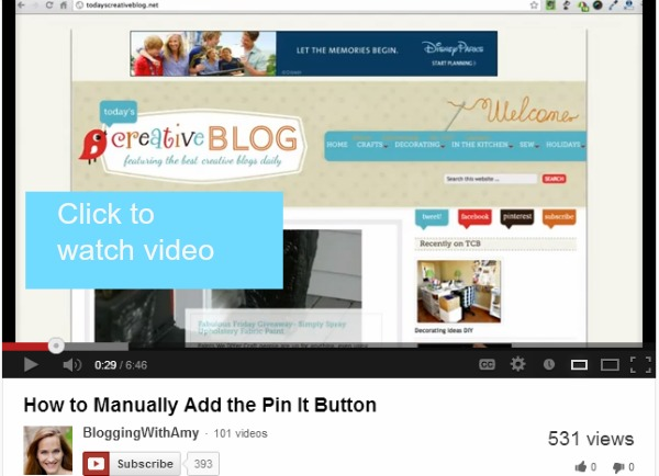 how to add pin it button manually