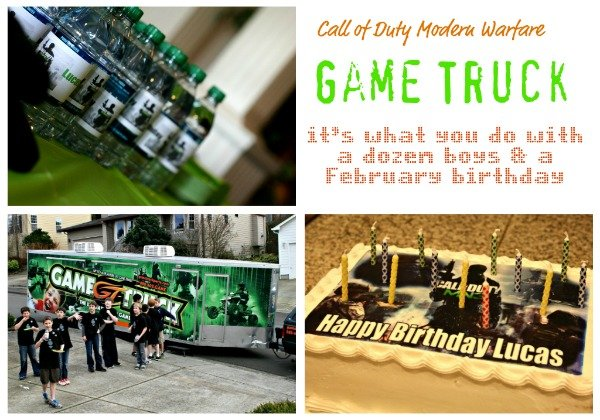 Birthdays | Modern Warfare birthday party for boys | TodaysCreativeBlog.net
